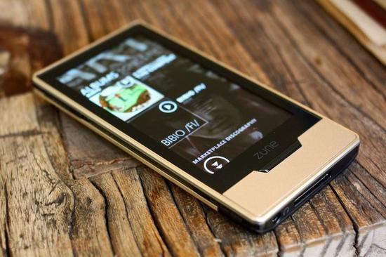 Zune便携式播放器