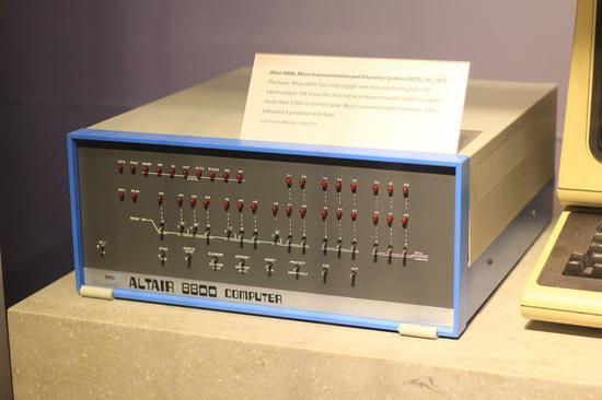 MITS Altair 8800。图/维基百科