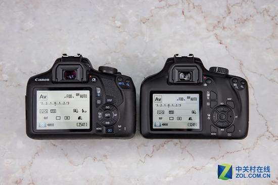 两款相机都有着非常直观的拍摄界面