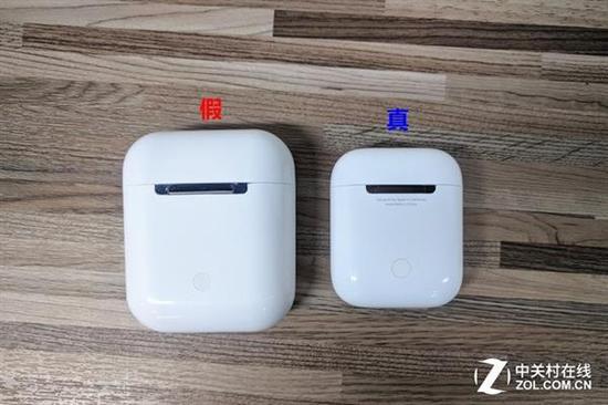 Ifans及Airpods充电仓对比