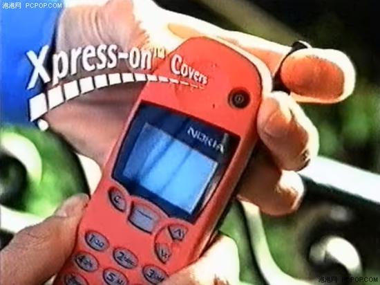 1998年诺基亚5110广告截图