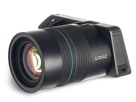 LYTRO ILLUM 40光场相机二代,传感器升级至1英寸
