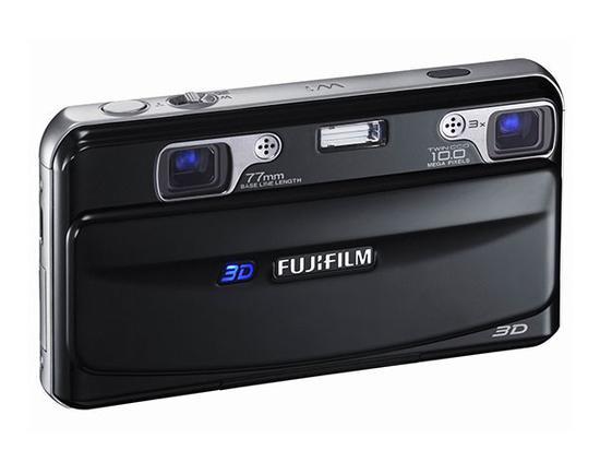 富士3D相机W1zh支持裸眼观看3Dzha照片