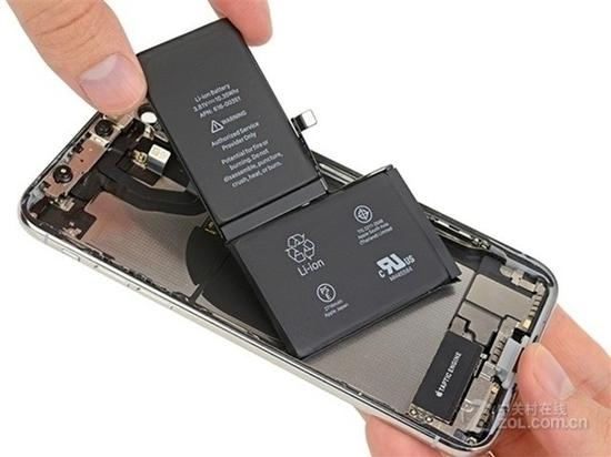 "iPhoneX采用""L""形电池"