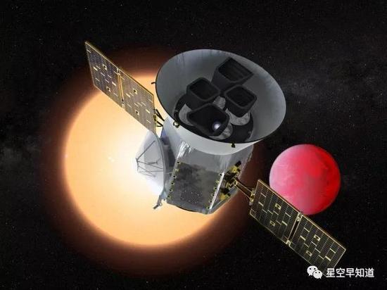 原定于今天清晨升空的TESS探测器因故推迟到19日清晨发射来源:NASA