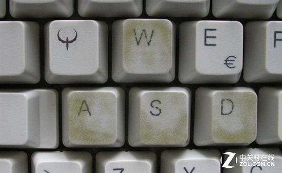 常用的WASD游戏按键