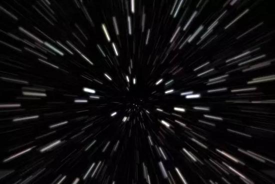 """空间膨胀能够产生超光速""""运动""""。图片来源:startalkradio.net"""