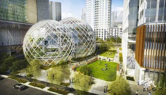 亚马逊在西雅图的第一总部还没有完工,已开始选址筹建第二总部