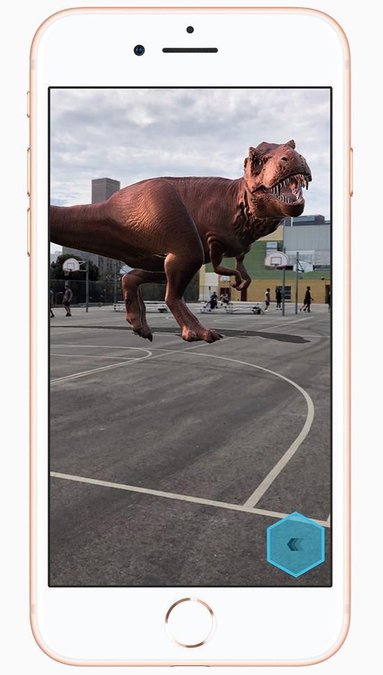 iPhone 8展示现实增强技术