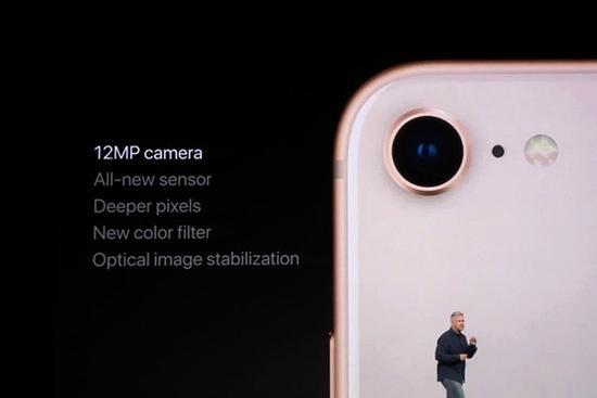 iPhone X/8系列的摄像头使用了新传感器