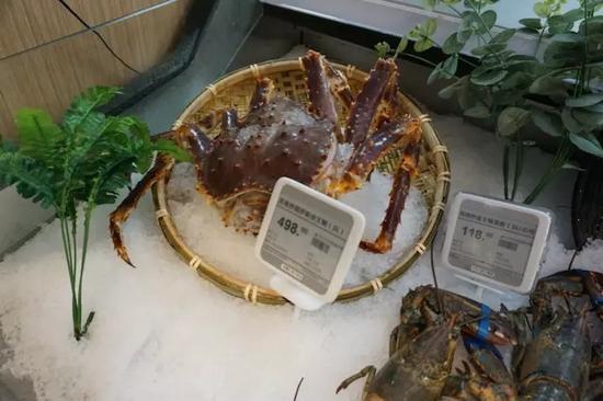 帝王蟹整体售价比其它地方更便宜