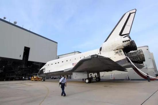 图丨航天飞机退役