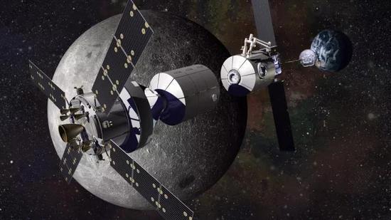 图丨NASA将与俄罗斯合作打造的深空之门项目