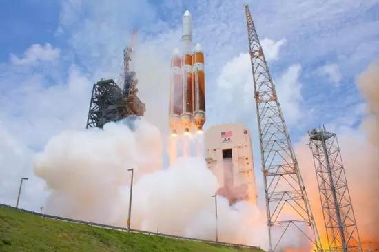 图丨ULA的德尔塔4重型火箭目前世界上运载能力最强的火箭