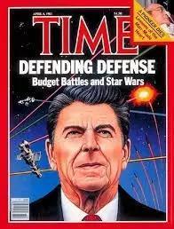 图丨登上《时代》杂志封面的里根和星球大战计划