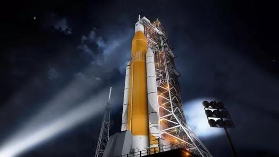 图丨太空发射系统