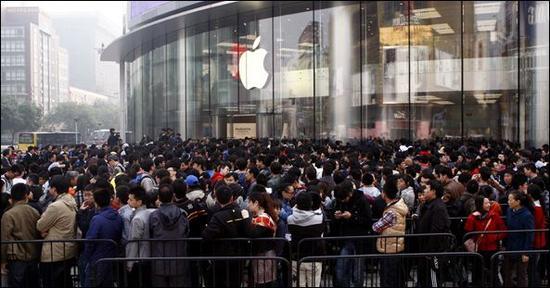 苹果零售店(图片来自百度)