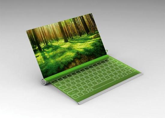 未来全面屏笔记本电脑