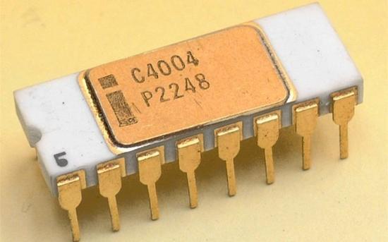 英特尔4004微处理器
