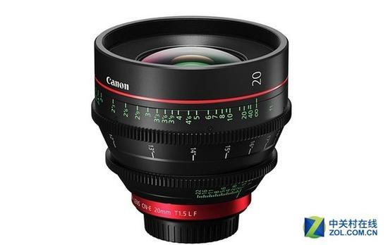 佳能推出CN-E20mmT1.5LF镜头
