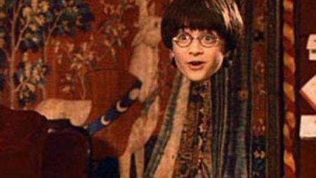 哈利波特的隐身斗篷