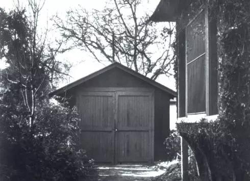 HP公司创业时的车库,也是硅谷诞生的地方