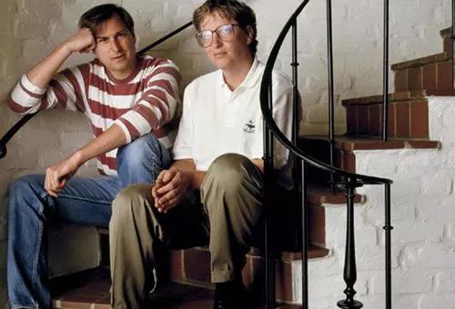 乔布斯和比尔盖茨