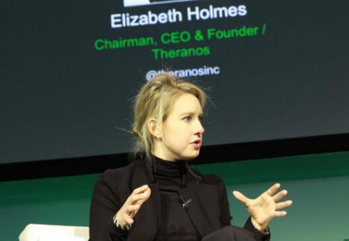 Theranos创始人伊丽莎白・霍姆斯