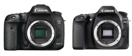 佳能EOS 90D以及佳能EOS 7D Mark III传闻图
