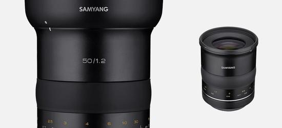 森养XP50mmf/1.2镜头