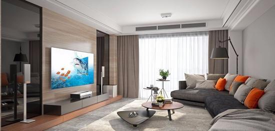 现在激光电视成为了居家大屏的首选。