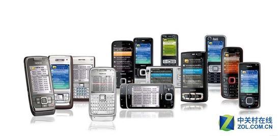 那个年代的手机是这样的(图片来源百度)