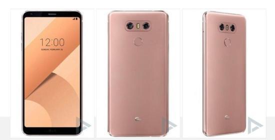 LGG6粉色版渲染图曝光(图片引自微博)