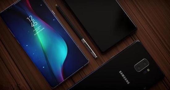三星Galaxy Note 9渲染图(图片来自网络)