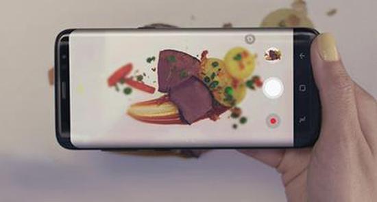 三星Bixby相机识别摄入食材卡路里展示(图片来自网络)