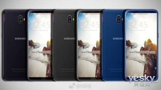 三星Galaxy C10渲染图