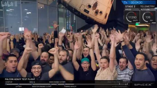 依旧是排山倒海的欢呼声!致敬这些勇敢创新的工程师们!