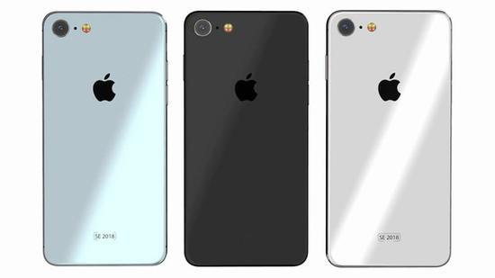 iPhone SE2渲染图