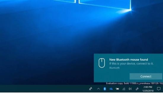 Windows10下一版将加入了全新的蓝牙连接机制