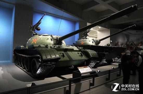 五对负重轮的59坦克