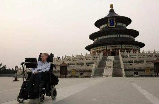 霍金在中国