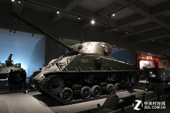 美国M4谢尔曼中型坦克