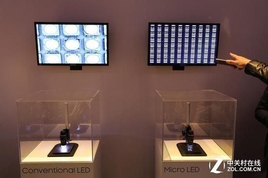 MicroLED技术可以让LED单元小于100微米