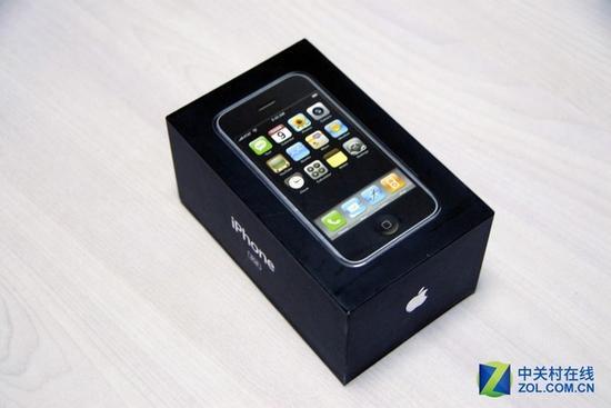 iPhone第一代产品包装