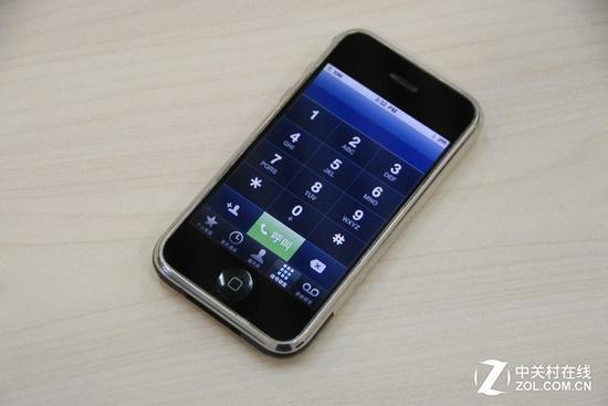 iPhone第一代电话界面