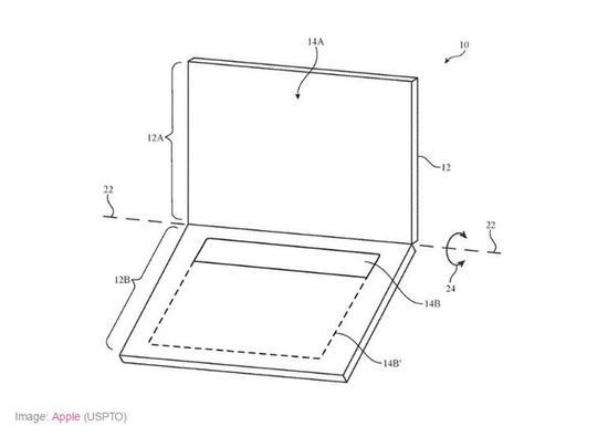 苹果新专利:带OLED屏的MacBook键盘
