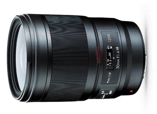 图丽opera50mmF1.4FF镜头谍照