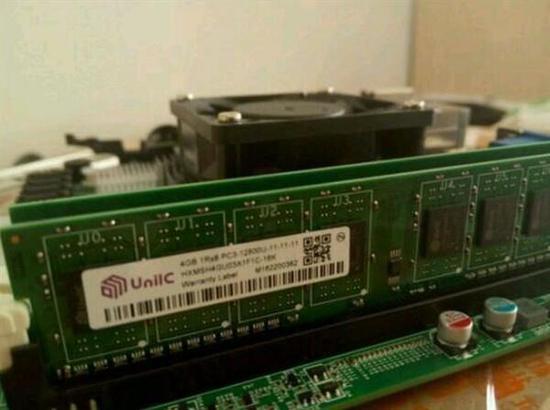 疑似紫光DDR4内存(图片来源于快科技)