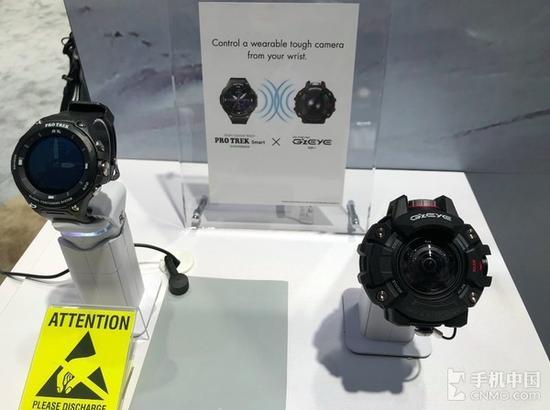 PRO TREK智能手表和GZEYE多功能摄像头