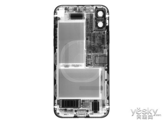 X光下的iPhone X